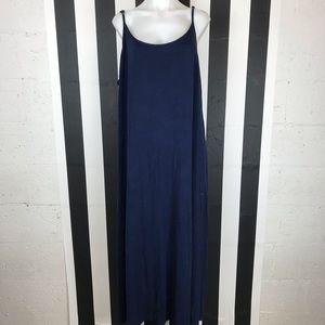 5 for $25 Forever 21 + Navy Open Back Maxi Dress